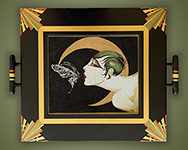 Butterfly Kiss tray