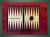 Georgetown backgammon board