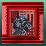 LL414C Gray poodle