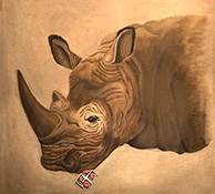 Stamp-eating Rhino