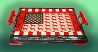 TC BN50L tray Flags/4th of July