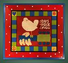 Woodstock Poster frame