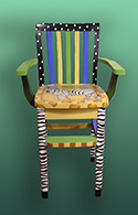 ZYC Zebra Youth Chair