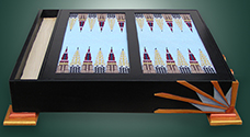 Art Deco Backgammon Board