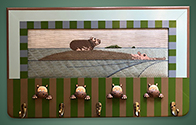 Hippo Coat Rack