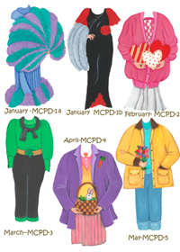 January-May outfits