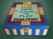 Keep Calm Mahjong Box