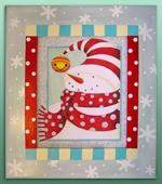 pfre421 Cozy Snowman