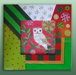 pfrm1595 Mod Holiday Owl
