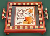 Pumpkin Spice tray