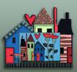 sfrm801 Houses & Heart