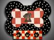 sfrmof6 Dog bone leash holder