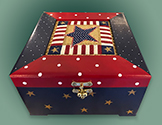 Patriotic Star Box