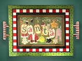 tSCSJ01 Santa Clothes Tray